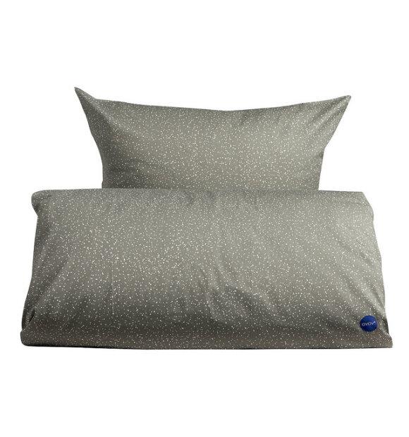 OYOY Living Design - Starry sengesæt, elefantgrå 140x220