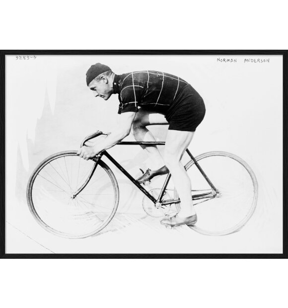 The Dybdahl Co. - Man and bicycle III, 70x100