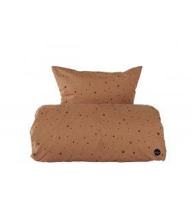OYOY Living Design - Sengesæt Dot Caramel, Junior