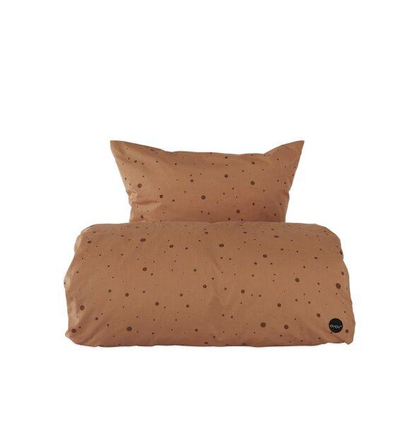 OYOY Living Design - Sengesæt Dot Caramel, Junior