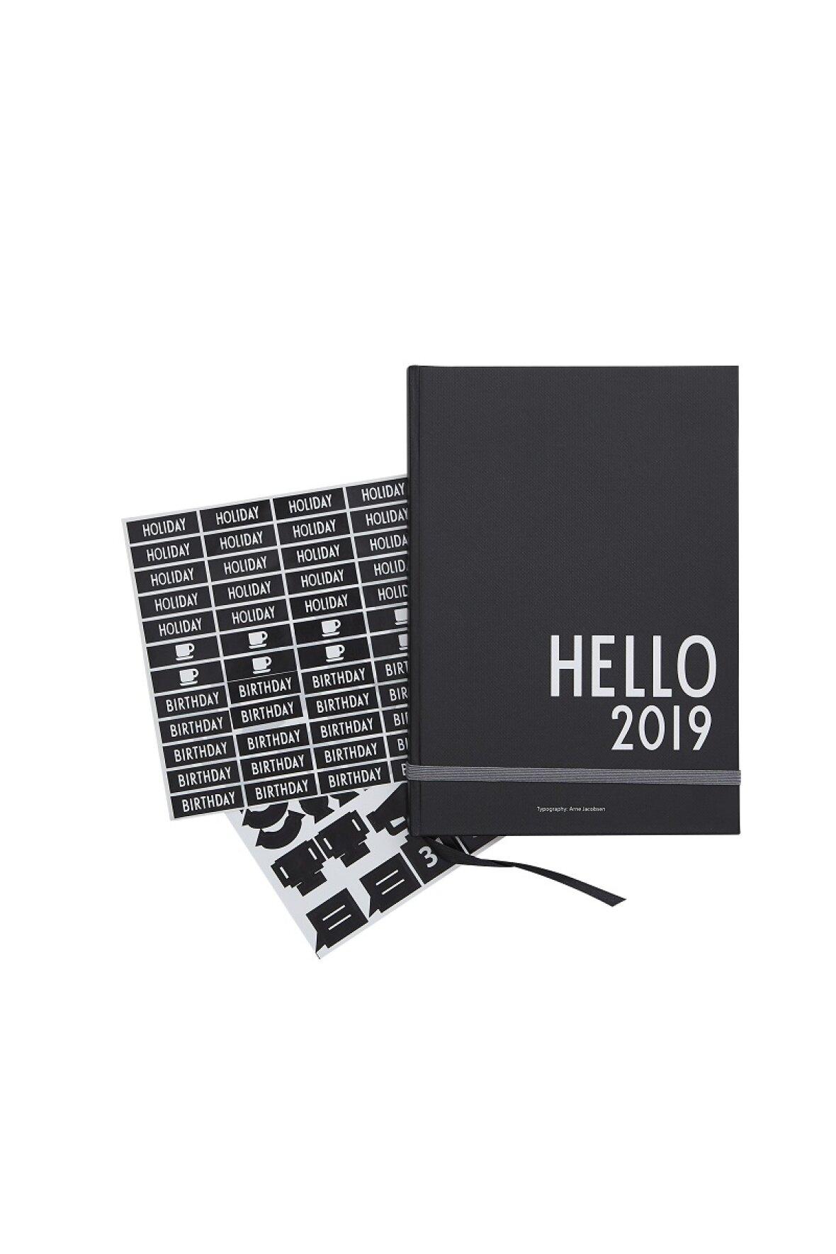 kalender 2019 a5 fra design letters. Black Bedroom Furniture Sets. Home Design Ideas