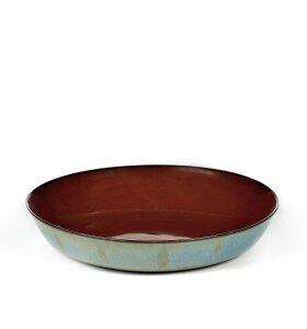 Serax - Tallerken S, Rust/smokey blue