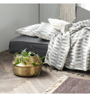 House Doctor - Potte Rattan, Messingfinish