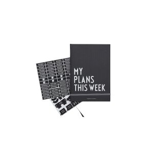 Design Letters - My plans this week
