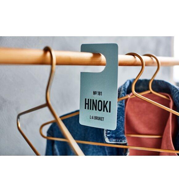L:A Bruket - Fragrance Tag #181, Hinoki