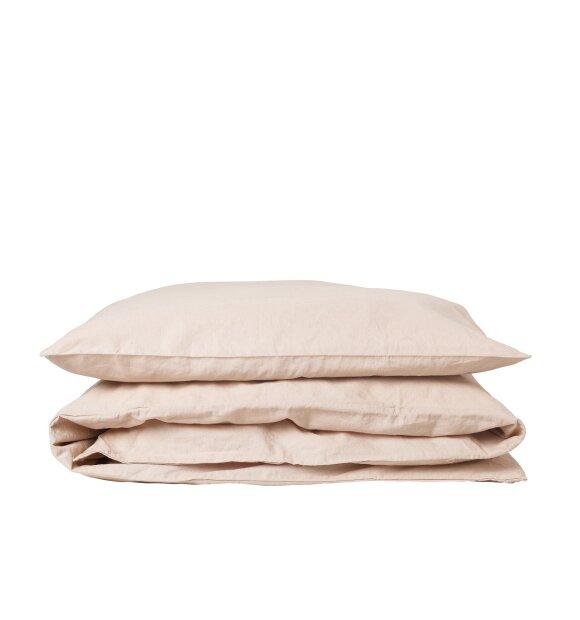 SEMIBASIC - Hør sengesæt, 140x200