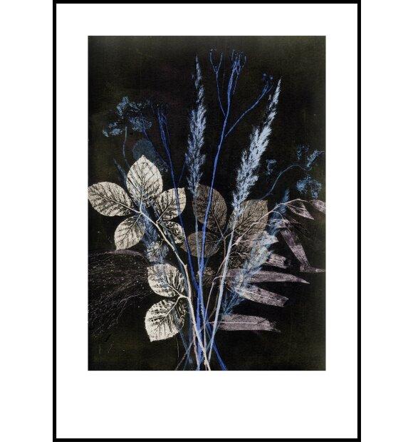 Pernille Folcarelli - Wild Bouquet Blue, 70x100