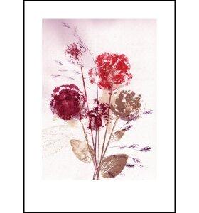 Pernille Folcarelli - Flower Bouquet Dusty, 50x70