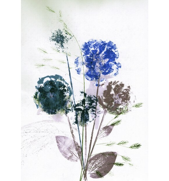 Pernille Folcarelli - Flower Bouquet Blue, A5