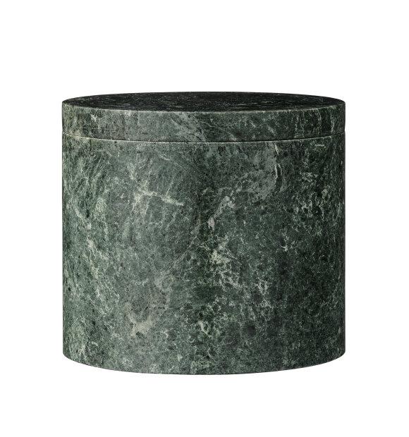 Bloomingville - Lågkrukke, Grøn marmor