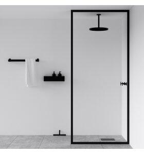 NICHBA-DESIGN - Badeværelseshylde 20 cm med afløb