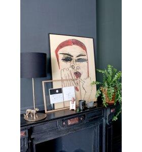 Monika Petersen Art Print - Woman with red nails