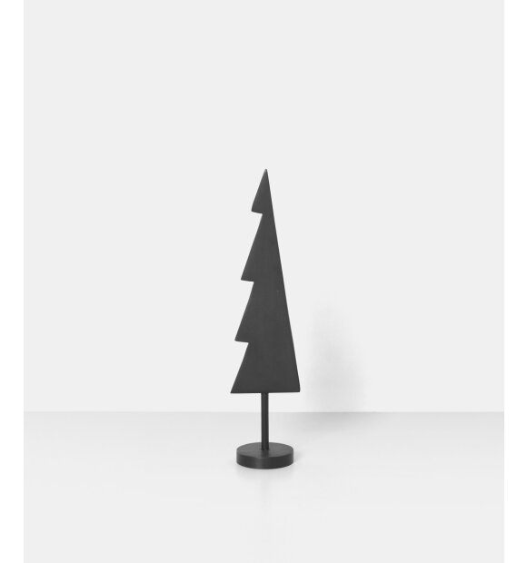 ferm LIVING - Winterland sort messingtræ, Solid