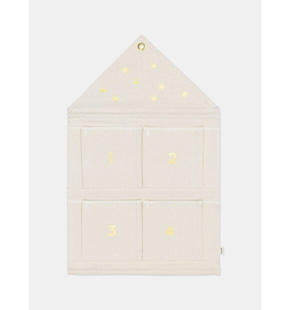 ferm LIVING - House adventskalender, Off-White