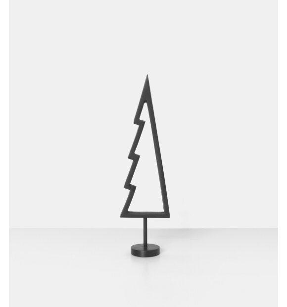 ferm LIVING - Winterland sort messingtræ, Outline