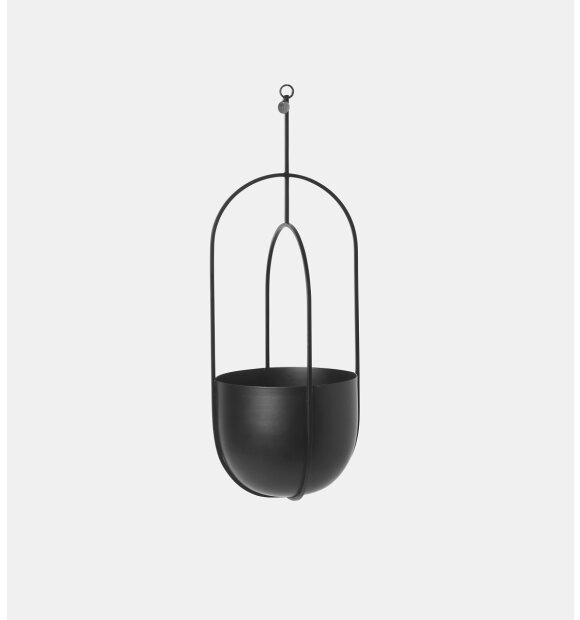 ferm LIVING - Deco hængepotte, sort