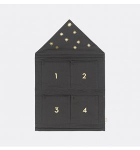 ferm LIVING - House adventskalender, Mørkegrøn