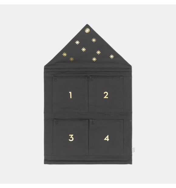 ferm LIVING - House adventskalender, Mørkegrøn