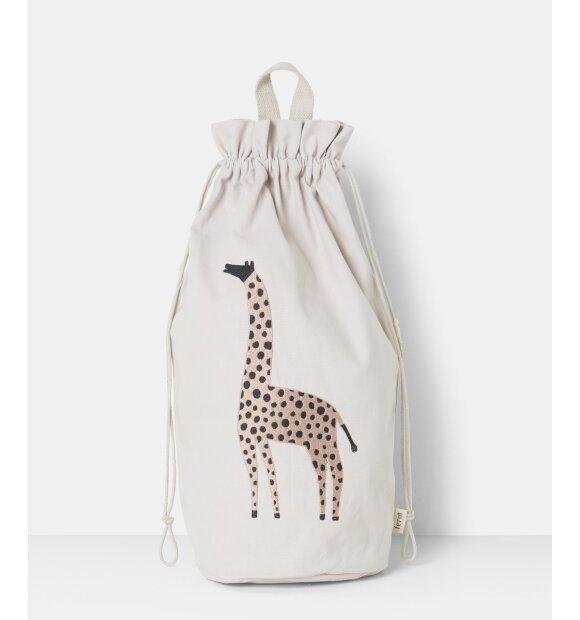 ferm LIVING Kids - Safari opbevaringspose, Giraf