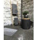 Skriver Collection - Bademåtte grå, 80x120