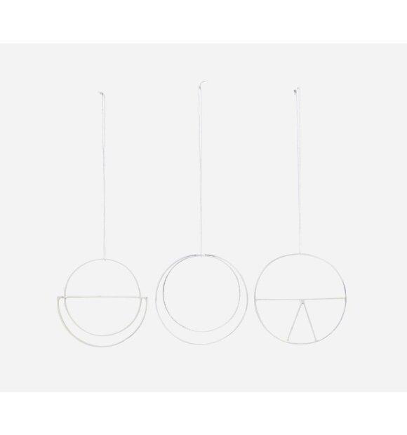 House-Doctor - Ornamenter Dream, Sølv