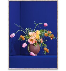 Paper Collective - Blomst 01 Blue, 50x70