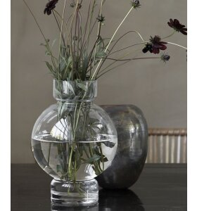 House-Doctor - Vase Bubble, Klar 17,5x25
