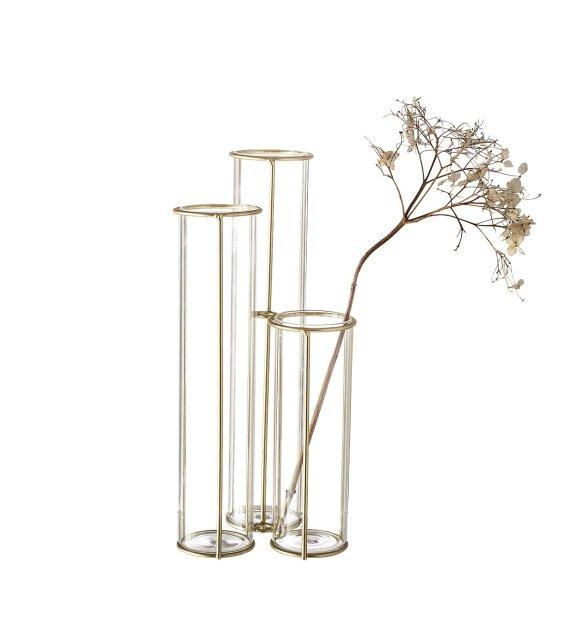 Bloomingville - Vase Guld, Glas