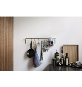ferm LIVING - Køkkenstang, Messing