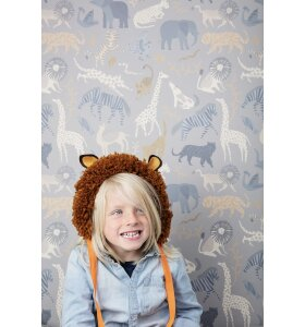 ferm LIVING Kids - Safari tapet
