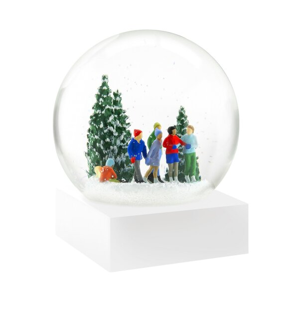 Coolsnowglobes - Snow Globe, Skaters