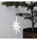 House-Doctor - Ornament Star, Hvid