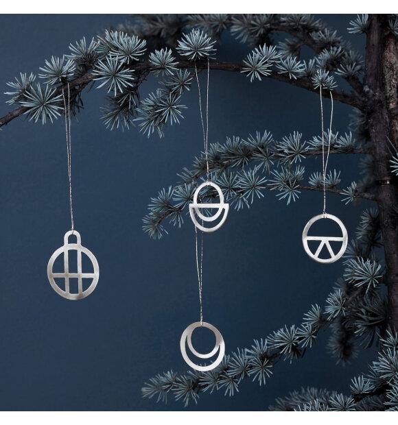 House-Doctor - Ornamenter Dream, sølvfinish