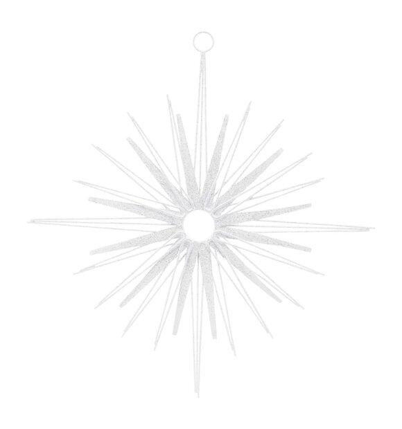 House Doctor - Ornament Spira, Hvid/Sølv