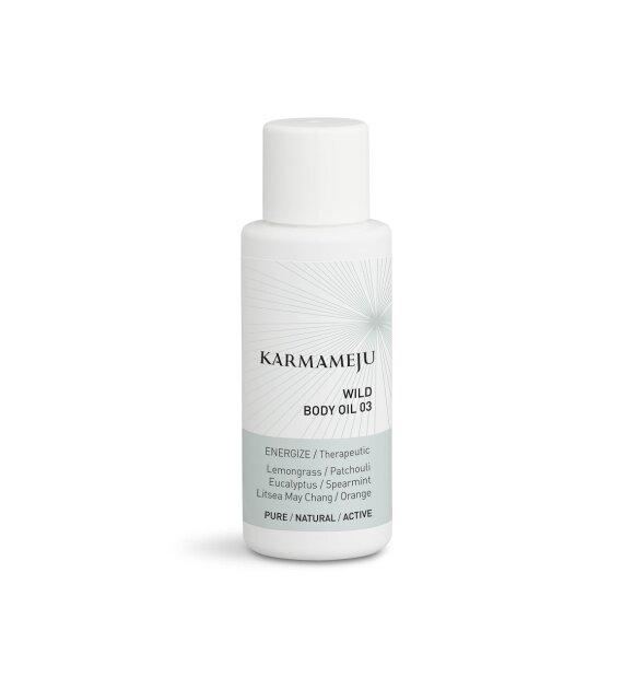 Karmameju - Body oil 03 Wild, Rejsestørrelse