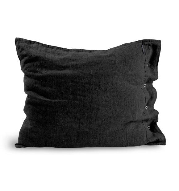 Lovely Linen - Lovely hovedpudebetræk i hør, mørkegrå