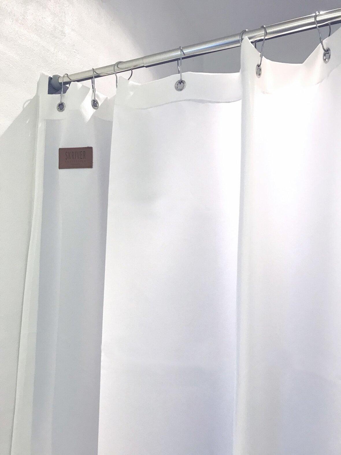 Avanceret Orlando bruseforhæng, Hvid fra Skriver Collection MC09