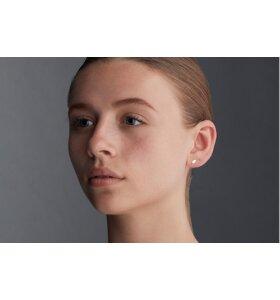 Louise Kragh Smykker - Ørestikkere 0301 Leaf, sølv eller forgyldt