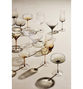 Broste Copenhagen - Champagneglas, Amber