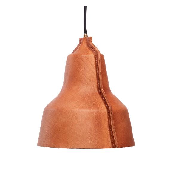 PUIK ART - Lampe Lloyd - håndlavet i natur læder