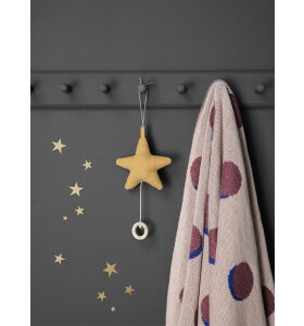 ferm LIVING Kids - Mini stjerner, messing