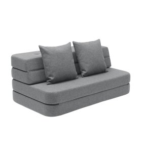 by KlipKlap - KK 3 fold sofa m. knapper