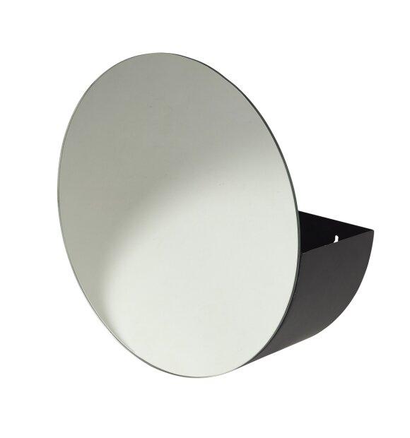 Broste Copenhagen - Rundt spejl med opbevaring