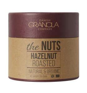 Danish Granola Company - The Nuts Hasselnødder, 200 g.