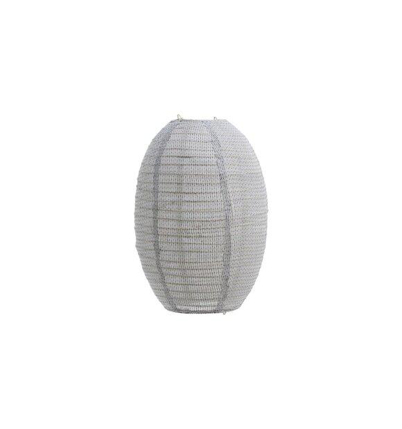 House Doctor - Lampeskærm Stitch, Lys grå, Small