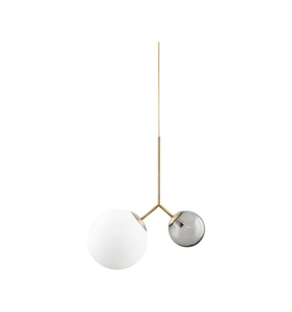 House Doctor - Lampe Twice, Hvid/grå