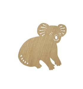 ferm LIVING Kids - Koala Lamp, Oiled Oak