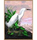 The Dybdahl Co. - 6402 Snowy Heron, 50x70