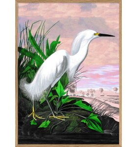 The Dybdahl Co. - 6402 Snowy Heron, 50x70
