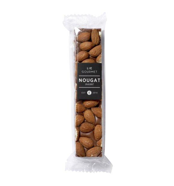 Lie Gourmet - Fransk nougat, chokolade og mandler